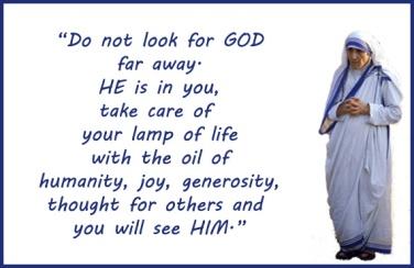 Mother Teresa_finding GOD