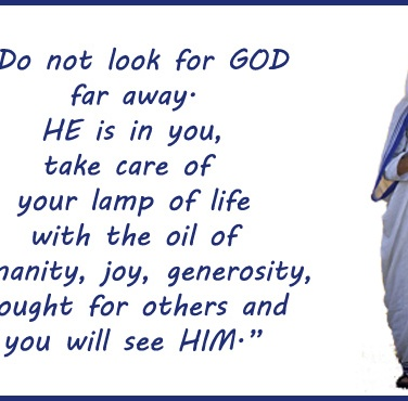 Mother Teresa_finding GOD
