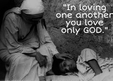 Mother Teresa_loving GOD