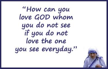 Mother Teresa_loving