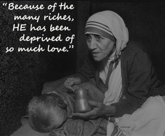 Mother Teresa at the home for the Dying, Mother Teresa's Missions of Charity, Calcutta, India, 1980